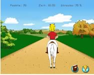 Bibi és Szabrina lovas online