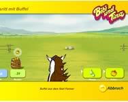 Bibi és Tina lovas onlie lóverseny játék