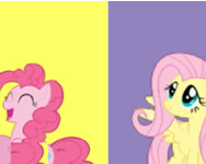 My Little Pony colours memory online játék