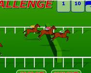 Steeplechase challenge lóverseny játék